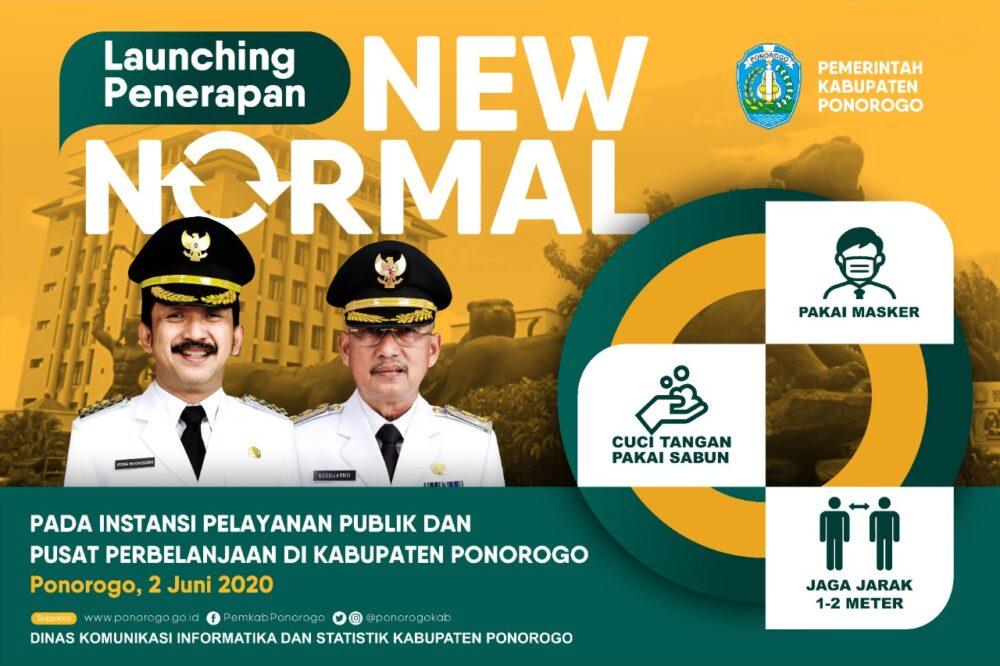 Kabupaten Ponorogo Mulai Berlakukan New Normal Portal Indonesia
