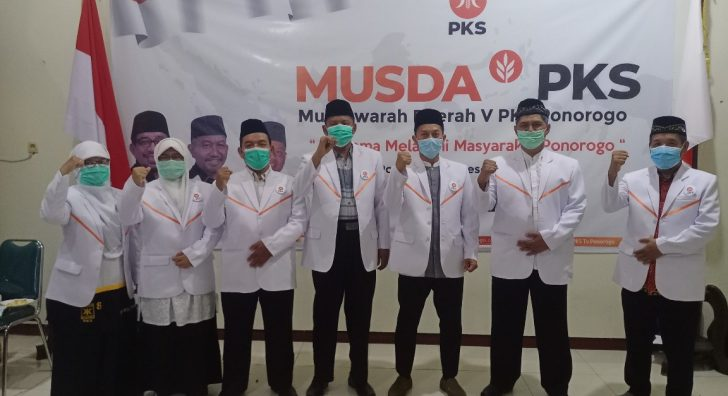 Pengurus DPD PKS Ponorogo